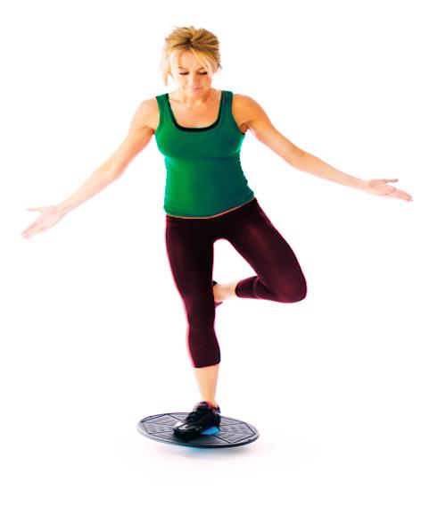 One-legged Balance board