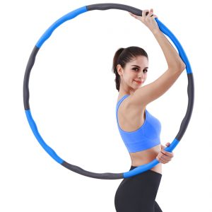 Weighted Hula Hoop, Professional Hoola Hoop 1 kg (2.2lbs) for Adults Kids Youth