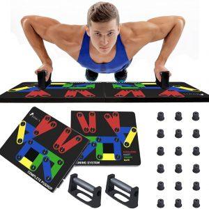 Push Up Board 14 in 1 Multifunctional Portable Press Up Board for Men Women