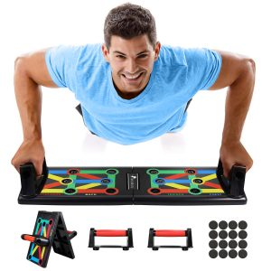 Push Up Board 12 in 1 Multifunction Foldable Muscle Exercise for Men Women